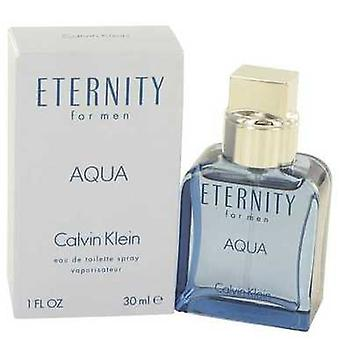 Eternity Aqua By Calvin Klein Eau De Toilette Spray 1 Oz (men) V728-489383
