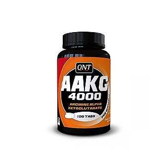 QNT AAKG 4800 Arginine Alpha Ketoglutarate Amino Acid Muscle Recovery - 100 Caps
