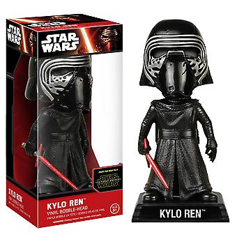 Star Wars Kylo Ren Unhooded VII Force Awakens Wacky Wobbler