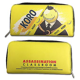 Hinge Wallet - Assassination Classroom - Koro Sensei Keep Out ge80455