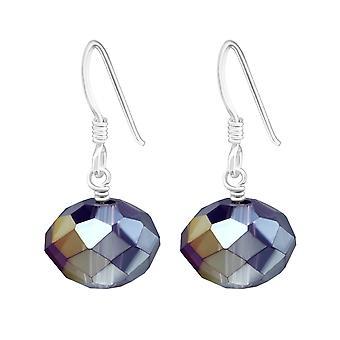 Gotas de Dangle - 925 Sterling Silver Crystal Brincos - W6905x