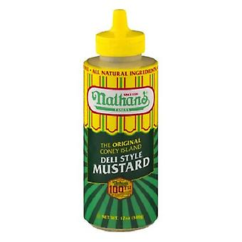 Nathan's Famous Original Coney Island Deli Style Mustard
