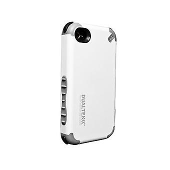 PureGear DualTek Impact Case with Screen Protector for Apple iPhone 4s - White