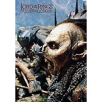 The Lord Of The Rings (Orc Reprint) Reprint Poster