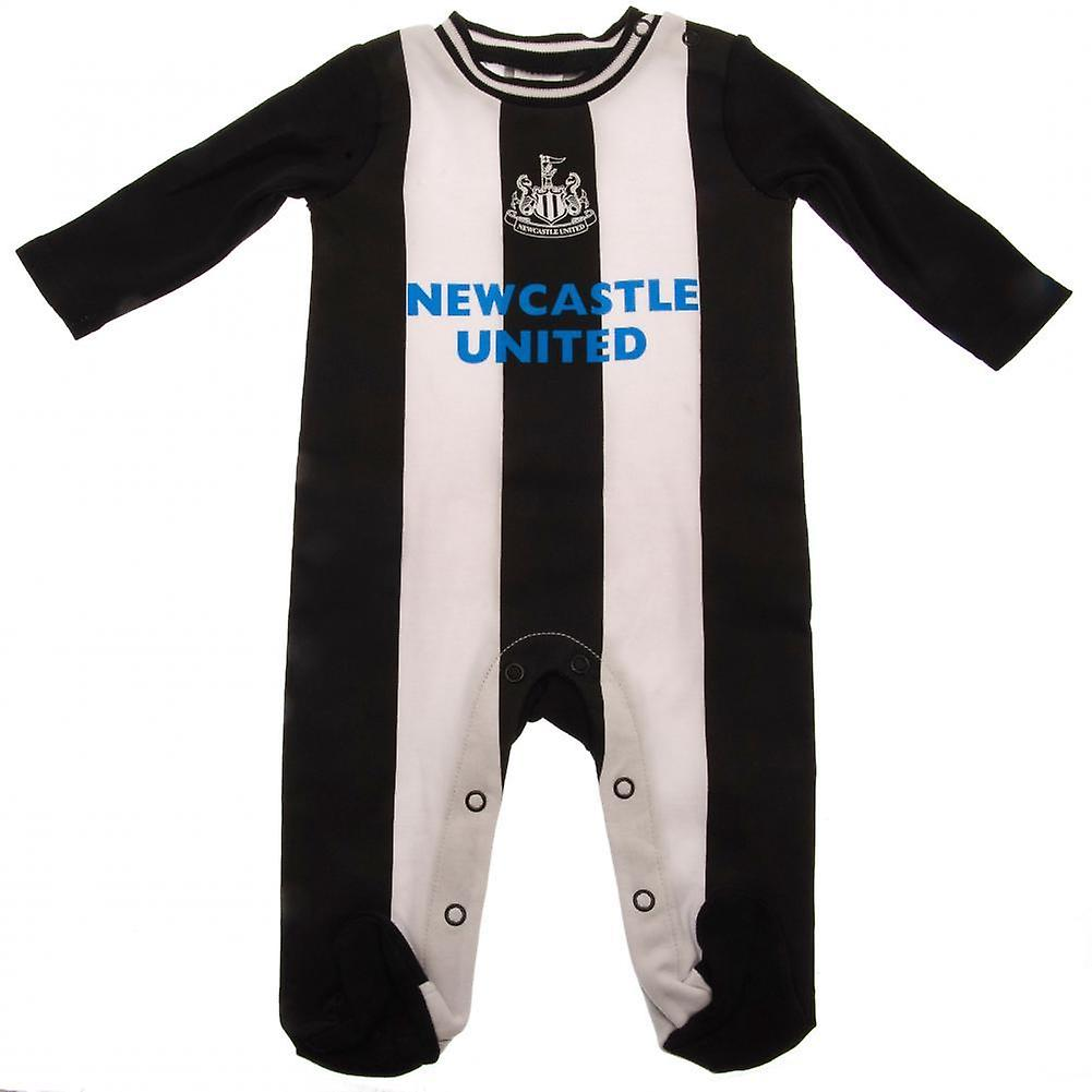 Newcastle United FC Baby Unisex Sleepsuit