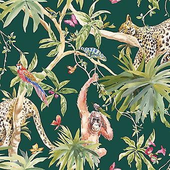 Animais de selva wallpaper Holden