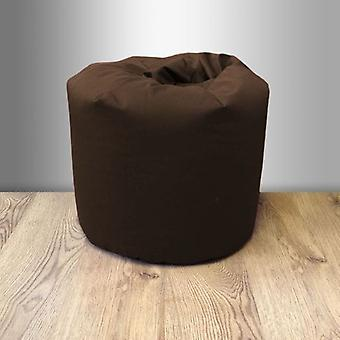 Small Children's Cotton Twill Bean Bag - Chocolate