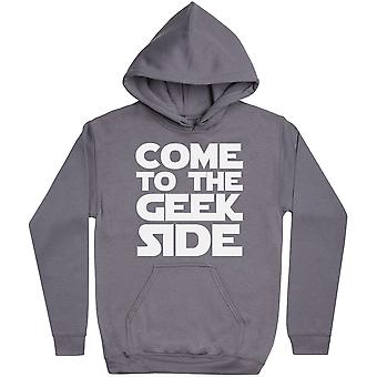 Come To The Geek Side - Hoodie Homme