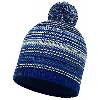 Buff Neper Knitted Hat Blue Ink