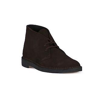 Clarks desert boot brown boots/booties