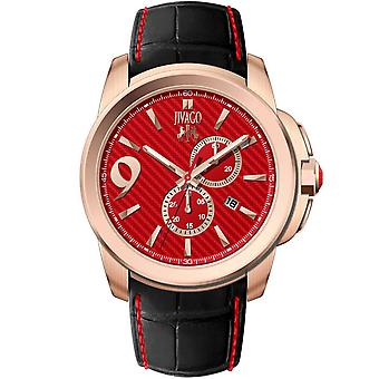 Jivago Men's Gliese Red Dial Watch - JV1514