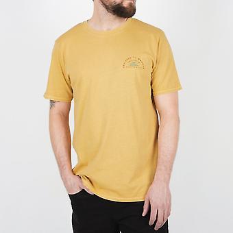 Passenger hout t-shirt-oker geel