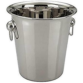 Champagne Wine Ice Bucket 4 Litre in High Polished Stainless Steel