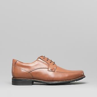 Anatomic & Co. Formosa Mens Leather Formal Shoes Havana