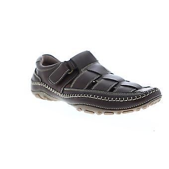 GBX Sentaur  Mens Brown Adjustable Strap Sport Sandals Shoes
