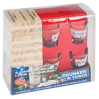 Weihnachtsgeschäft Drunken Tower Drinking Spiel