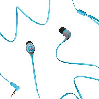 Note - Wired Earphones With Mic - Blue