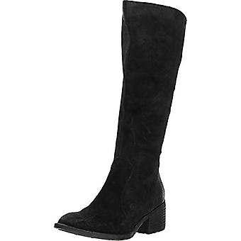 Born Womens Felecia Suede Lace Up Knee-High Boots