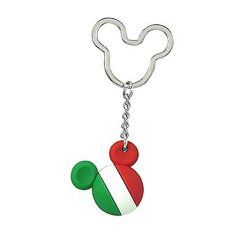 Key Chain - Disney - Mickey Flag Icon Ball Key Ring - Mexico New 85721
