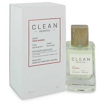 Clean Terra Woods Reserve Blend By Clean Eau De Parfum Spray 3.4 Oz (women) V728-547858