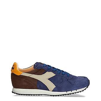 Diadora heritage - trident men's sneakers, marrone blue
