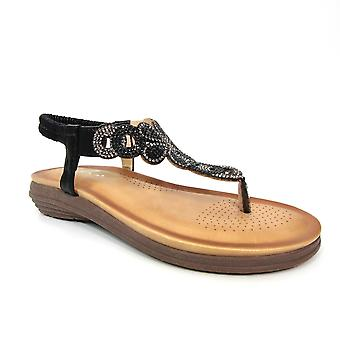Lunar Edwina ädelsten Sandal