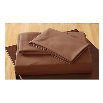 Dreamz Ultra Soft Fitted Sheet With Two Pillow Cases In Queen Size