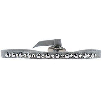 Bracciale intercambiabile A29570 - tessuto grigio acciaio donna Bracciale