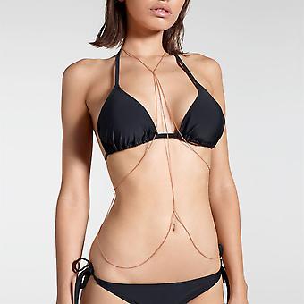Golddigga Womens Layer Body Chain Dames
