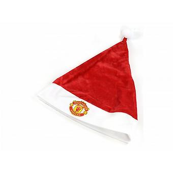 Manchester United FC Super Soft Santa Hat