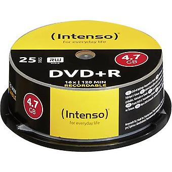 Intenso 4111154 Blank DVD+R 4.7 GB 25 pc(s) Spindle