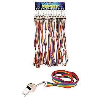 Rainbow Cord Whistle