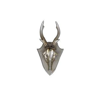 Light & Living Wall Ornament 16.5x8.5x5cm Antler Silver