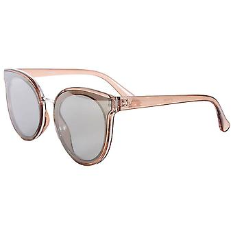 Jeepers Peepers Transparent Cat Eye Sunglasses - Light Brown