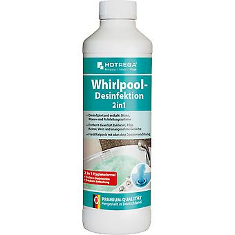 HOTREGA® Whirlpool Disinfection 2 in 1, 500 ml bottle (concentrate)