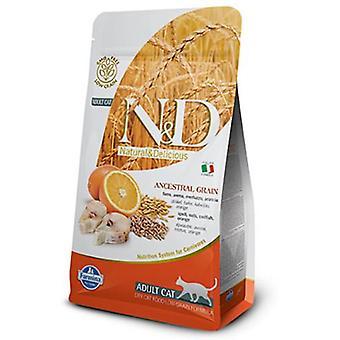 Farmina N&D Low Ancestral Grain Adult Fish and Orange (Cats , Cat Food , Dry Food)