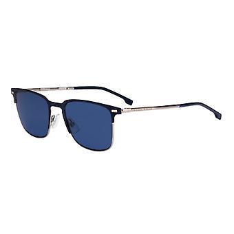 Hugo Boss 1019/S FLL/KU Matte Blue/Blue Sunglasses