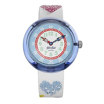 Flik Flak Watches Fbnp116 Love My Heart Textile Watch