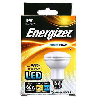 1 x Bombilla de Energizer alta tecnología LED R80 reflectora 11w = a 60w [clase energética A +]