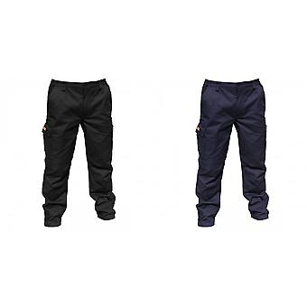 Result Mens Stretch Work Trousers / Pants (32 Inch Leg Length)