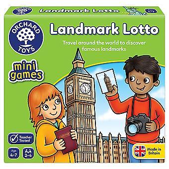 Fruktträdgård leksaker Landmärke Lotto Mini Spel