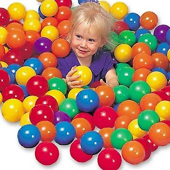 50 Colourful Pit Balls  Swimming Pool Bouncy Castles Kindergarten 6 Colors Colours