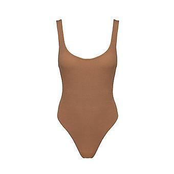 Paramidonna Zopos07 Women's Bege Nylon One-piece Suit