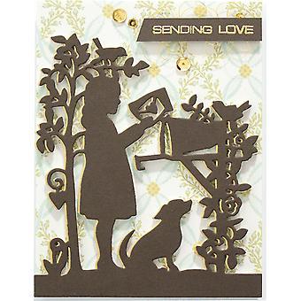 Spellbinders Shapeabilities Dies By Sharyn Sowell - Sweet Letters .75