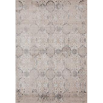 19&; x 36&; x 0.2& Light Taupe Polyester Accent Rug