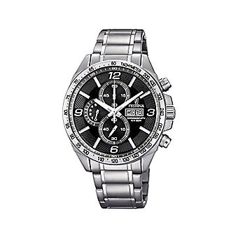 Festina Chronograph quartz men's Watch with stainless steel band F6861-4
