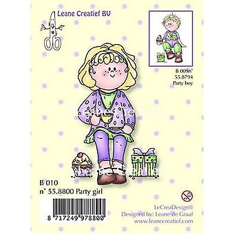 LeCrea Clear Stamp - Bambinie Party Girl