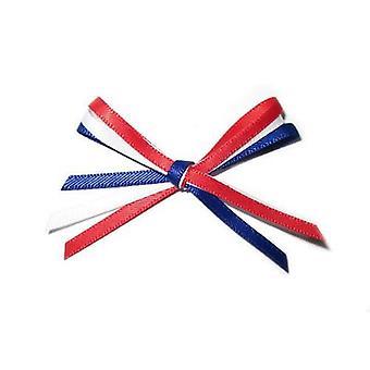 Vivant Bows lim Holland röd - vitblå - 10 ST