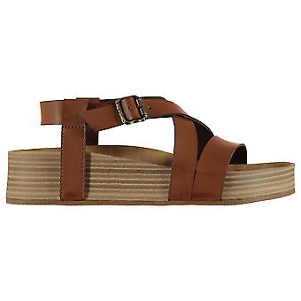 Blowfish Womens Milli Platform Wedges Ankle Strap Open Toe Buckle