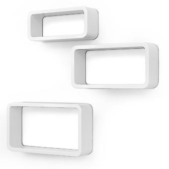 Set of 3 trendy wall boxes